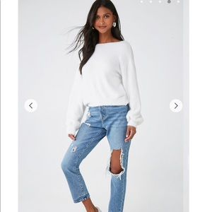 Forever 21 Sweaters - Off the shoulder sweater